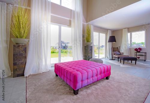 Wohnzimmer, Moderne Einrichtung