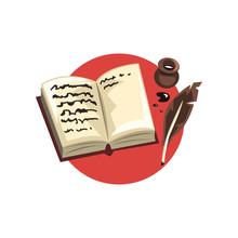 Symbols Of The Writer Professi...