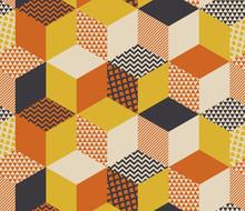 Geometric Seamless Pattern Vec...