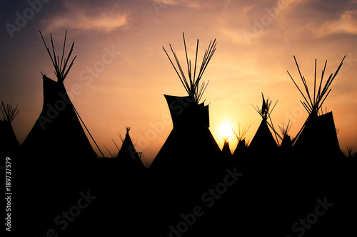 Tipi 5 Wallpaper Mural