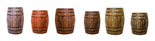 Row Brown Oak Barrel Maturatio...