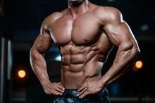 Brutal Strong Bodybuilder Athl...