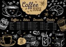 Coffee House Menu. Restaurant ...