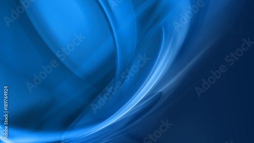 Foto op Aluminium Abstract wave Abstract Blue Background