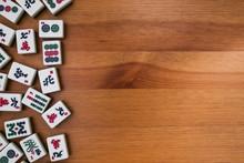 White-green Tiles For Mahjong ...