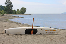Lifeguard Paddle Board On Jeri...