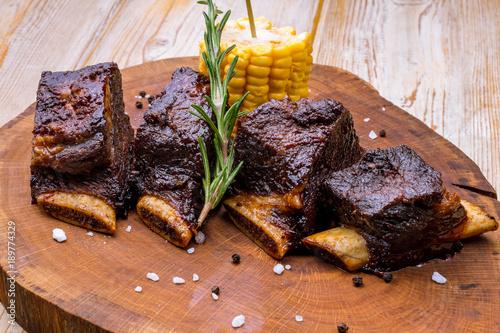 Valokuva  Beef ribs
