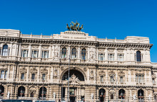 Palace Of Justice Under A Blue Sky