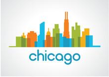 Chicago Skyline Logo