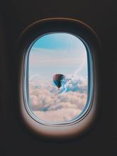 Hot Air Balloon Through Airpla...