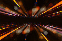Abstract Lens Flare. Concept I...
