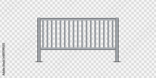 Photo Vector realistic isolated barricade for decoration and covering on the transparent background