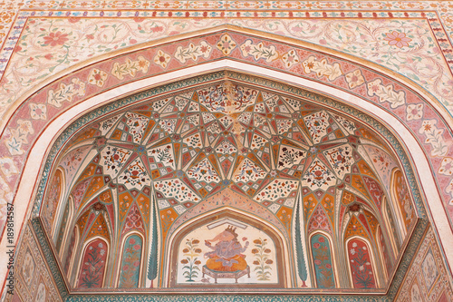 Art at Amer Fort Rajasthan India Wallpaper Mural