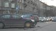 November 7th 2018. Tallinn, Estonia. Car crash on city junction