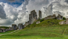 The Ruins Of Corfe Castle, Dor...