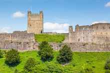 Richmond Castle In Yorkshire, ...