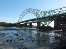 The Jubilee Bridge On The Rive...