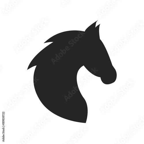 Fototapeta Horse head icon obraz