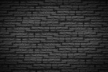 Black brick wall - Dark background