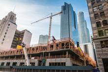 Gratte-ciel En Construction
