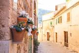 Fototapeta Fototapeta uliczki - Valldemossa Mallorca