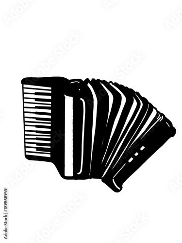 the accordion black and white Wallpaper Mural