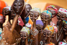 African Carving Of Tribal Women