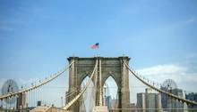 View Of Brooklyn Bridge Towers...