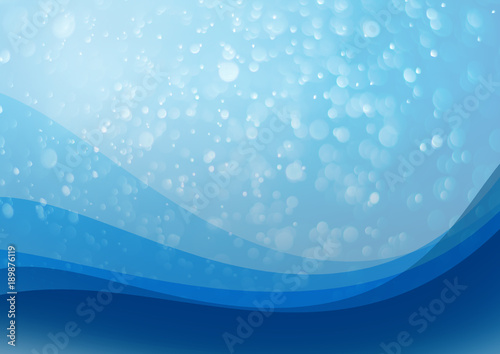 background blue Bokeh Sway Abstract dynamic blue design with