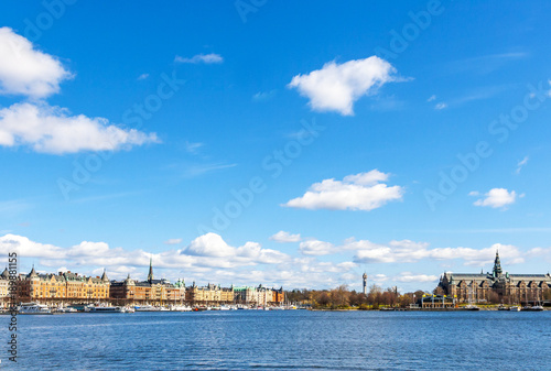 Papiers peints Piscine Aerial panorama of Stockholm, Sweden