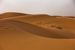 Sand dunes in Erg Chebbi at sunrise, Sahara desert, Morocco, Africa