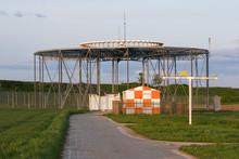 VHF Omni Directional Radio (VOR) Unit For Short Range Aircraft Navigation