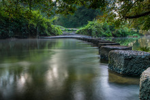 Stepping Stones Boxhill Surrey...