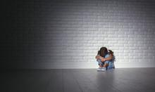 Upset Sad Sad Child Girl In St...
