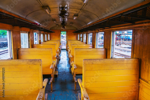 Photo In bogie of old train