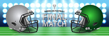American Football Final Match ...