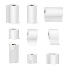Paper Towels Toilet Rolls Real...
