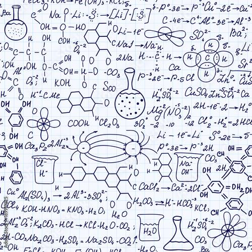 edukacyjny-wektor-wzor-z-odrecznymi-wzorami-chemicznymi-rownania-obliczenia-rozwiazania-zadan-i-recznie-rysowane-dzialek
