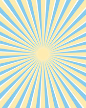 Yellow And Blue Rays Background