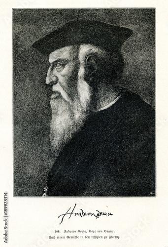 Fotografie, Obraz  Andrea Doria, Italian condottiero and admiral of the Republic of Genoa (from Spa