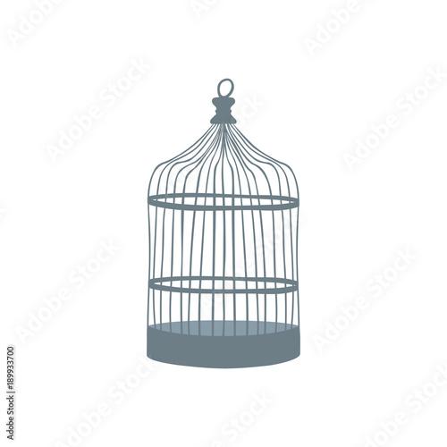 Fotografie, Obraz  Old bird cage. Raster copy.