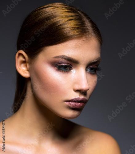 Foto op Plexiglas Beauty Portrait of a Woman
