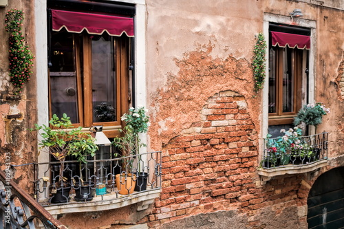 Venedig, verwitterte Fassade © ArTo
