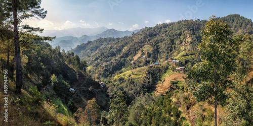 Wall Murals Nepal Landscape East of Kathmandu, Nepal