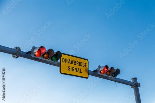 Drawbridge Closed Signal Canvas Print
