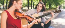 Street Musician Romantic Date....
