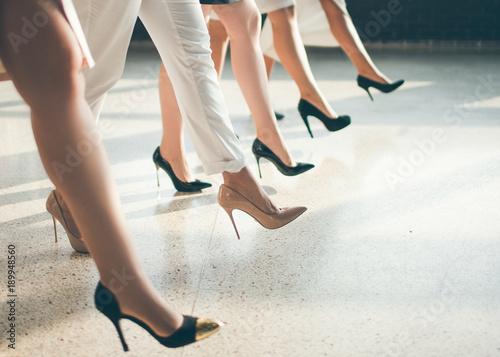 Valokuva  wardrobe of successful business woman