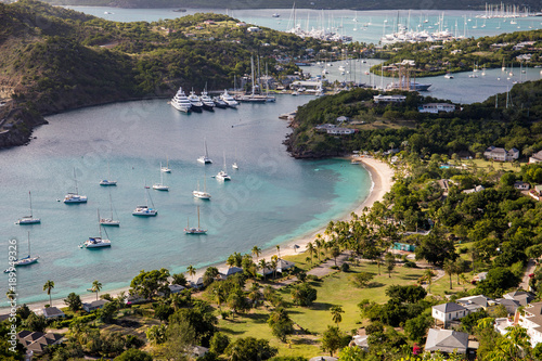 Photo English Harbour is a natural harbour and settlement on the island of Antigua in