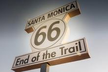 Fin De La Route 66.