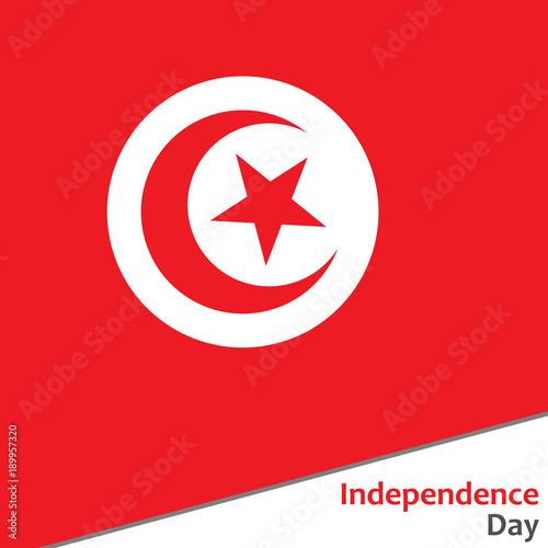 Fotografia, Obraz  Tunisia independence day